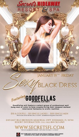 This week at Secrets Hideaway... featuring GoodFellas o