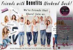 It's the Friends with Benefits Weekend!!!