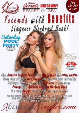 Friends with Benefits Lingerie Bash