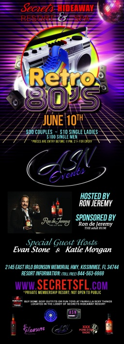 ASN Events Takeover Hosted by Ron Jeremy