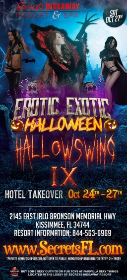 HALLOWSWING IX AT SECRETS HIDEAWAY IS HERE!!!