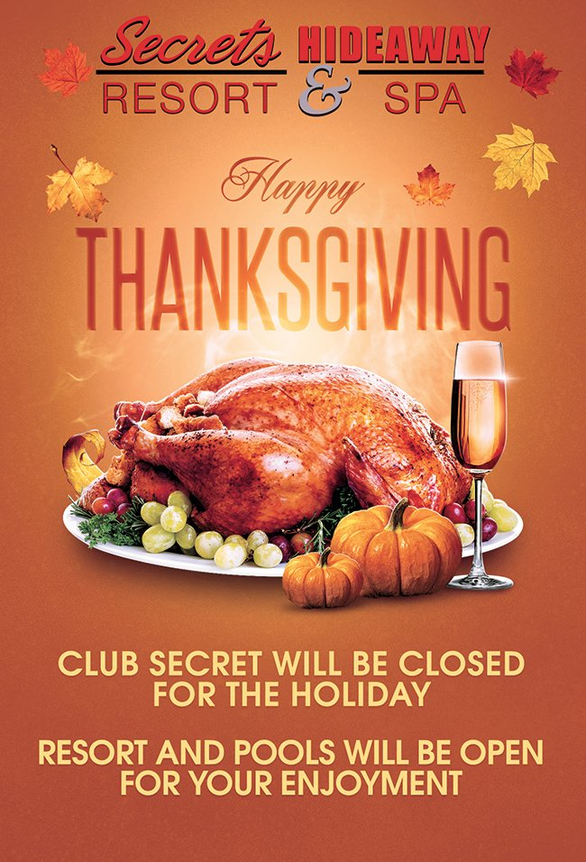 Events - Happy Thanksgiving Orlando, Florida Lifestyle and Swinger Parties
