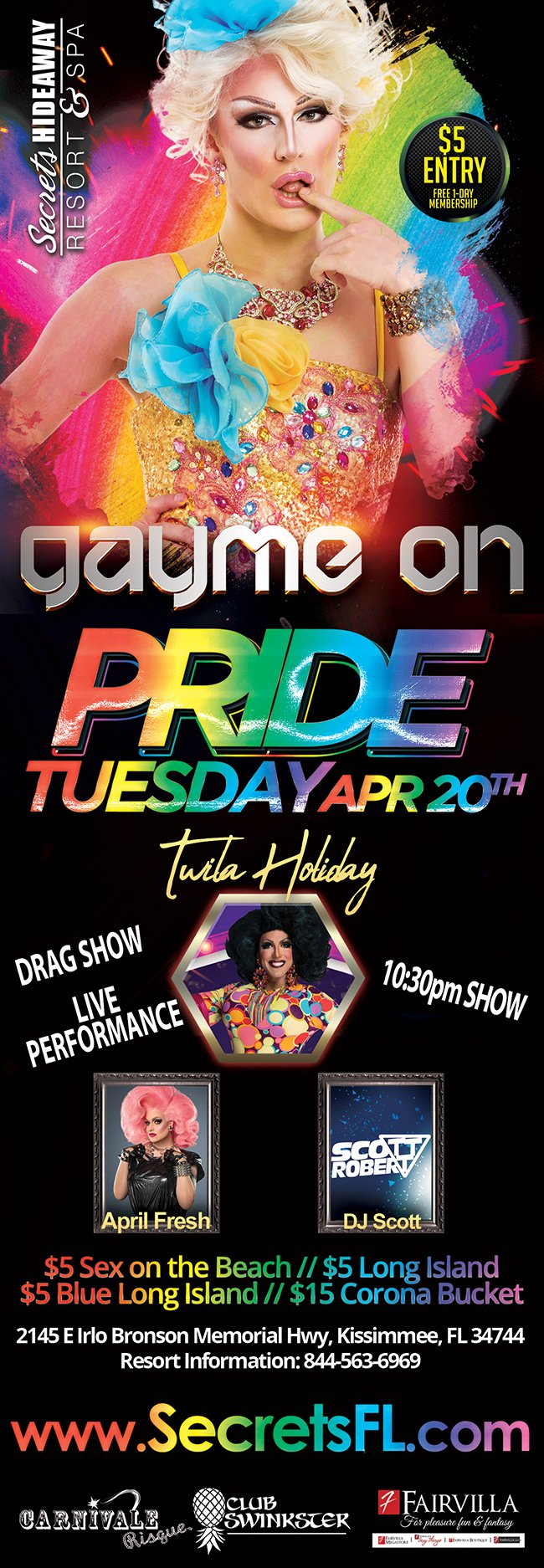 Events   Pride Night Orlando, Florida Lifestyle and Swinger Parties