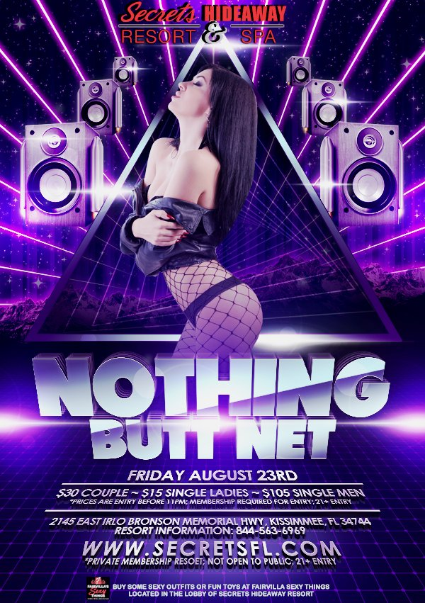 Events - Nothing Butt Net Orlando, Florida Lifestyle and Swinger Parties