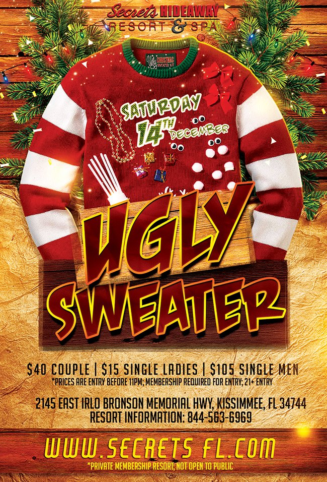 Events - Ugly Sweater Orlando, Florida Lifestyle and Swinger Parties