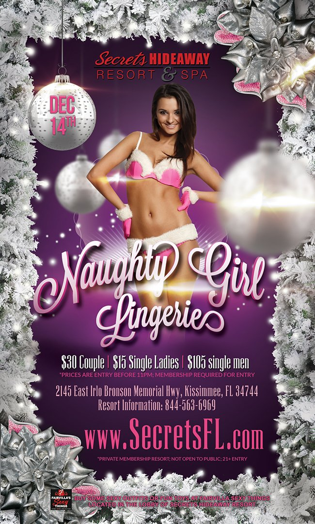 Events - Naughty Girl Lingerie Orlando, Florida Lifestyle and Swinger Parties