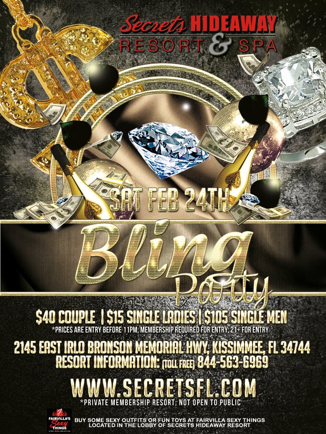 Events - BLING Party Orlando, Florida Lifestyle and Swinger Parties