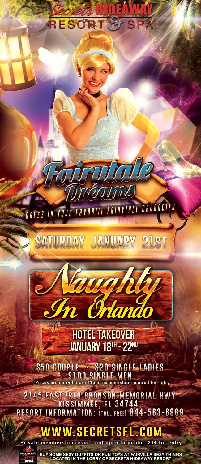 Events - Naughty in Orlando Hotel Takeover Orlando, Florida Lifestyle and Swinger Parties