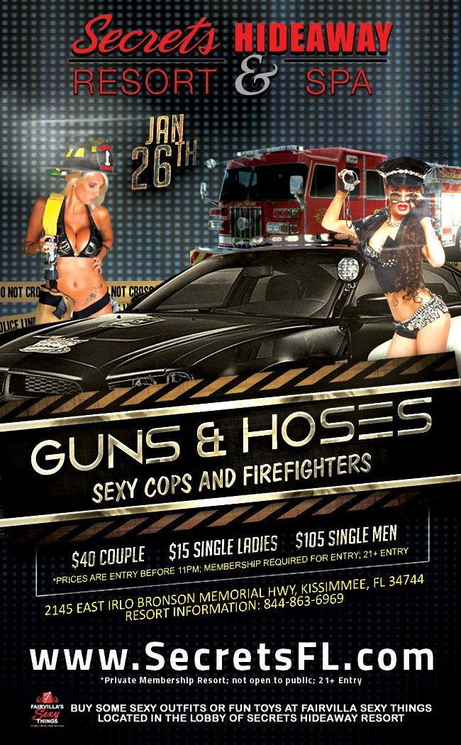 Events - Guns & Hoses Orlando, Florida Lifestyle and Swinger Parties