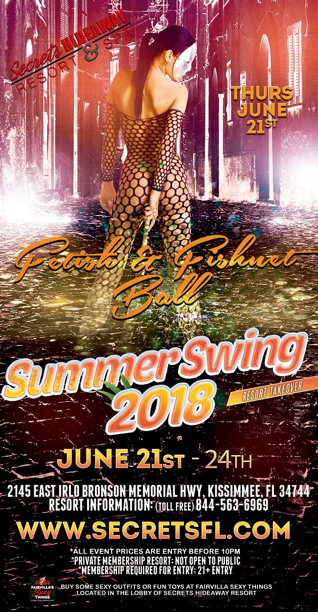 Events - Fetish & Fishnet Ball Orlando, Florida Lifestyle and Swinger Parties