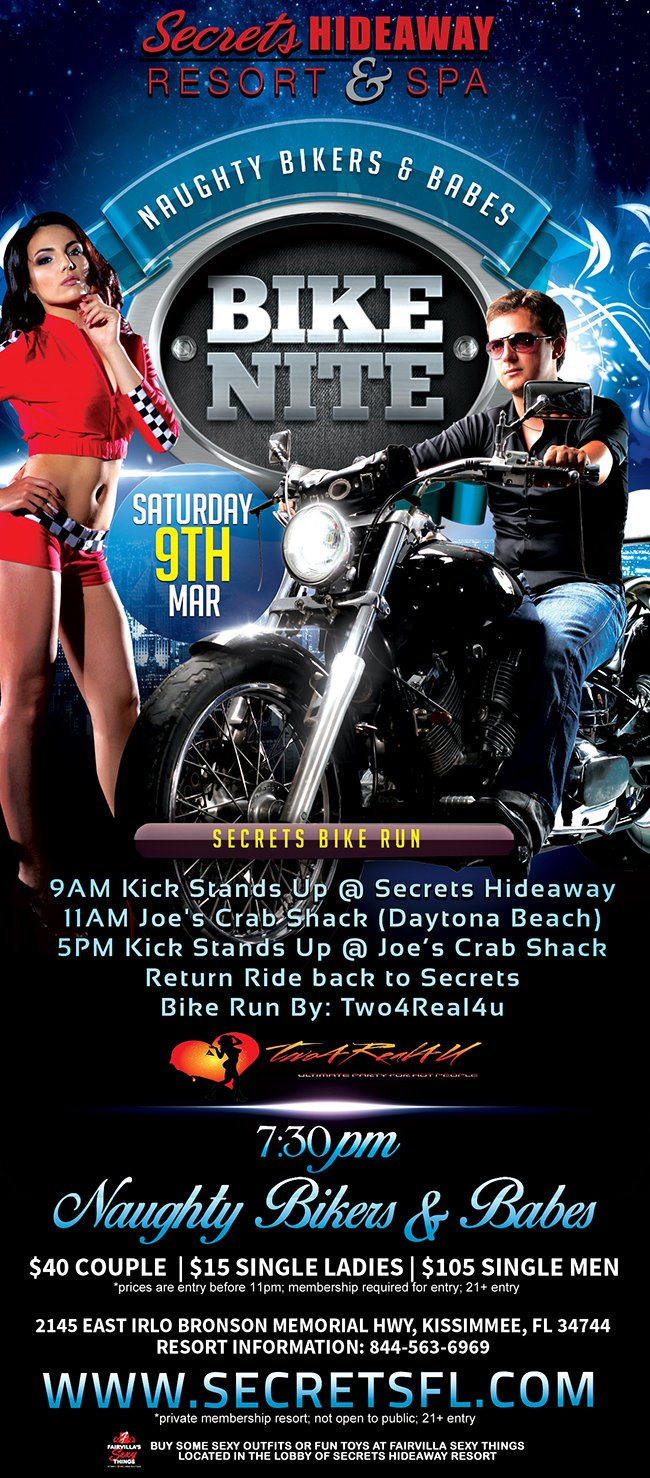 Events - Naughty Bikers & Babes Orlando, Florida Lifestyle and Swinger Parties