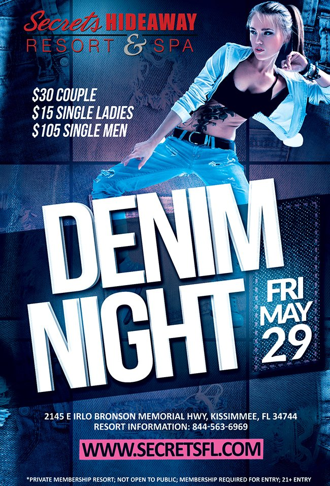 Events - Sexy Denim Orlando, Florida Lifestyle and Swinger Parties