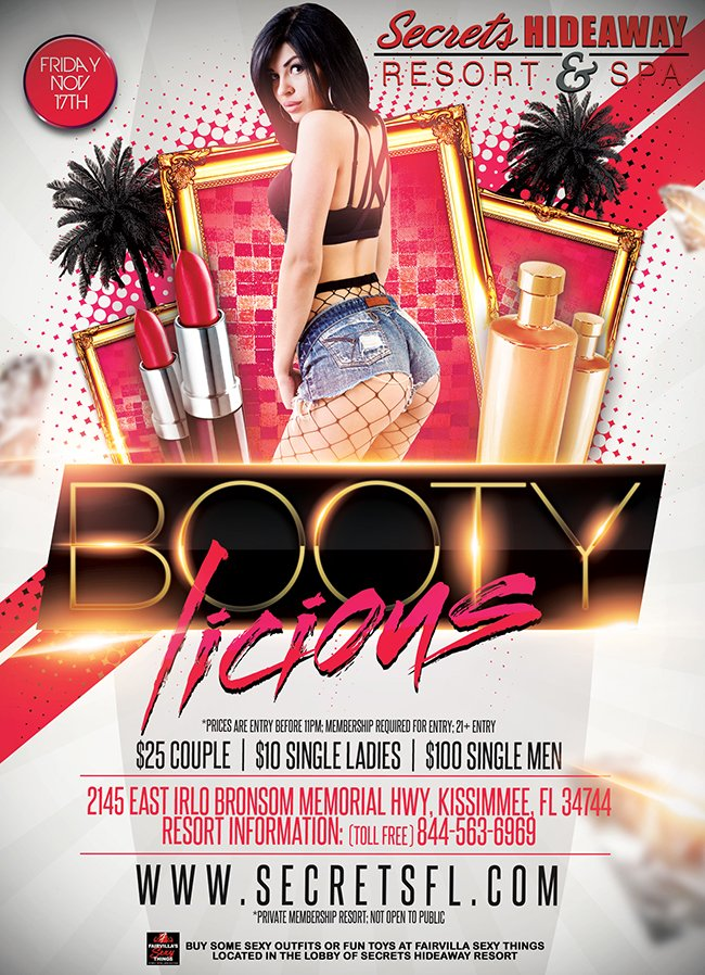 Events - Bootylicious Orlando, Florida Lifestyle and Swinger Parties
