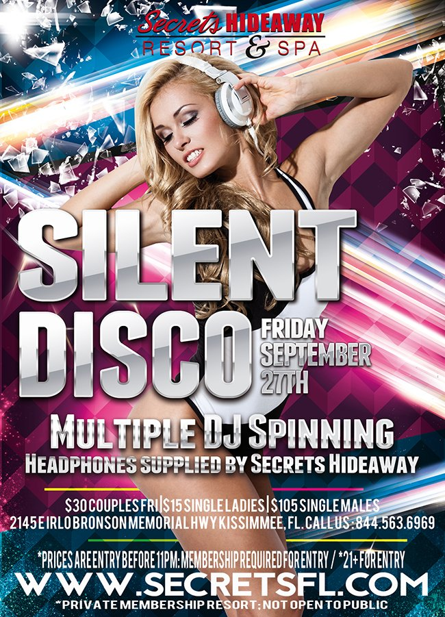 Events - Silent Disco Party Orlando, Florida Lifestyle and Swinger Parties