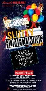 Slutty Homecoming - Back to School Swing Hotel Takeover