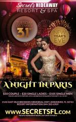 A Night in Paris - NYE Takeover