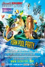 Never Never Land Foam Pool Party 11am-5pm