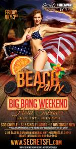 Beach Party - Big Bang Takeover