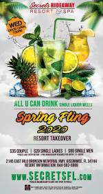All U Can Drink - Spring Fling Takeover