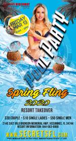 Friday Pool Party - Spring Fling Takeover
