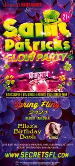 St Patrick's Glow Party - Spring Fling Takeover