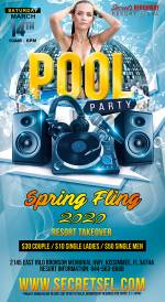 Saturday Pool Party - Spring Fling Takeover