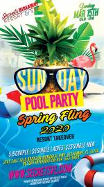 Sunday Pool Party - Spring Fling Takeover