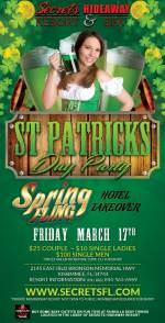 St. Patty's Party - Spring Fling Takeover