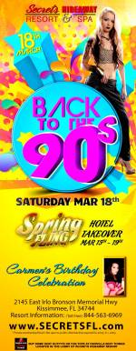 Back to the 90's - Spring Fling Takeover