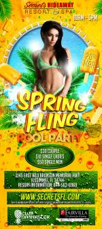 Pool Party 10am-5pm - Spring Fling Takeover