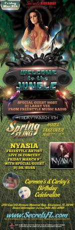 Welcome to the Jungle - Spring Fling Hotel Takeover