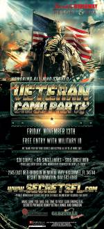 Salute to Military - Camo Party