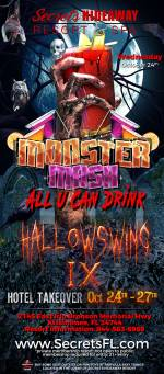 Monster Mash All U Can Drink - Hallowswing IX