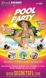 Saturday Pool Party 10am - 5pm