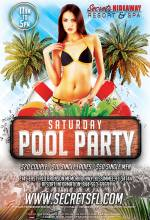 Saturday Pool Party 11am-5pm