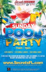 Sunday Pool Party 11am-7pm