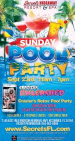 Retox Sunday Pool Party 11am-7pm