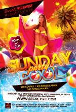 Sunday Pool Party: 9am - 7pm