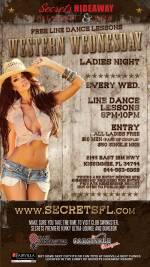 Western Wednesday - ALL LADIES FREE