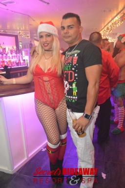 Secrets Naughty Christmas Party 2017
