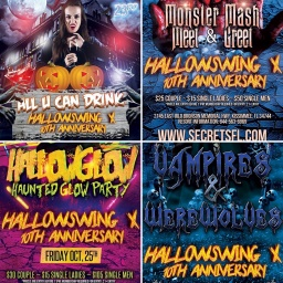 Hallowswing X is Bigger, Better & Scarier than ever!