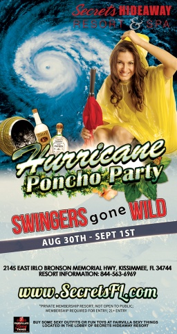 BEST Hurricane Party EVER! Swingers Gone Wild gets Wet