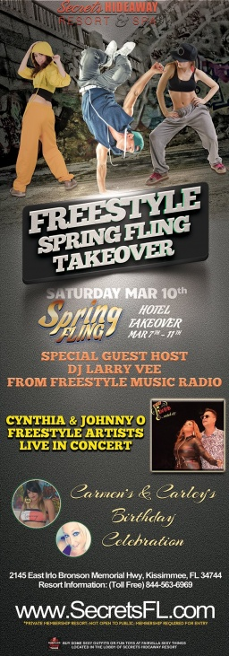 This week at Secrets Hideaway... It's Spring Fling 201