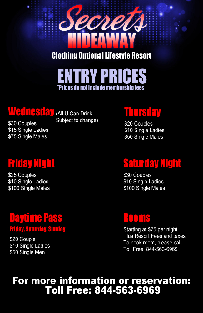 Entry Prices